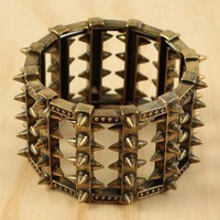 Prickly Shield Bracelet
