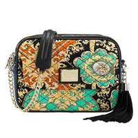 Baroque Print Shoulder Bag by Julyjoy