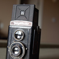 Voigtländer Brillant V6 Camera c 1937 by BoldSparrowVintage