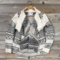 Wood Sled Sweater, Cozy Women's Sweaters