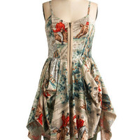 Free Rein Dress | Mod Retro Vintage Printed Dresses | ModCloth.com