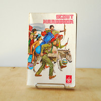 1970&#x27;s Scout Handbook Boy Scouts of America Published 1972