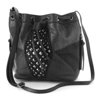 Mudd Dani Studded Cross-Body Handbag