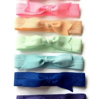 Tie It with a Bow Rainbow Collection Hair Ties