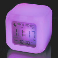 Aurora Colour Changing Clock at Firebox.com
