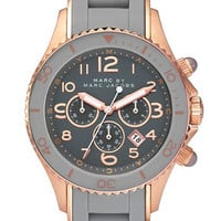 MARC BY MARC JACOBS &#x27;Rock&#x27; Chronograph Silicone Bracelet Watch | Nordstrom