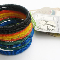 Handmade Recycled Bangle by Garbage of Eden | HOLSTEE