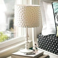 Chenille Dot Lamp Shade | PBteen