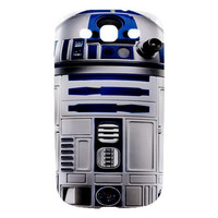 Samsung Galaxy S3, SIII Hard-Shell Case, R2D2 Star Wars (Printed Back and Side)