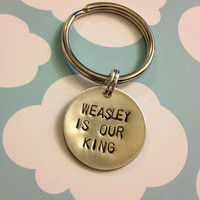 Weasley is our King - Harry Potter Keychain
