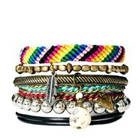River Island Blogger Friendship Bracelets Pack at asos.com