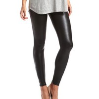 Ankle-Zip Liquid Legging: Charlotte Russe