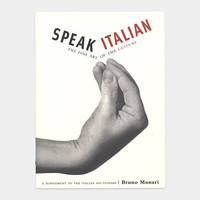 Speak Italian: The Fine Art of the Gesture (Paperback) - MOMA Store