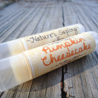 Pumpkin Cheesecake Lip Balm, dye free