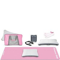 Wii 5-In-1 Lady Fitness Workout Kit - Pink