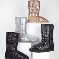 Mari Sequin Boot