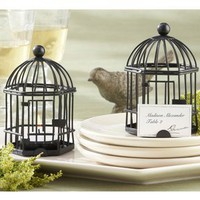 ideeli | KATE ASPEN Set of 12 Birdcage Tea Light/Place Card Holder