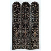 Amazon.com: Wayborn Furniture 1373 Coromandel Screen Room Divider, Black: Home Improvement
