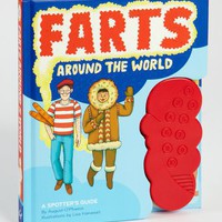 Farts Around The World | International Fart Book | fredflare.com