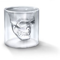 Fred and Friends Doomed: &#x27;Crystal Skull&#x27; Shotglass