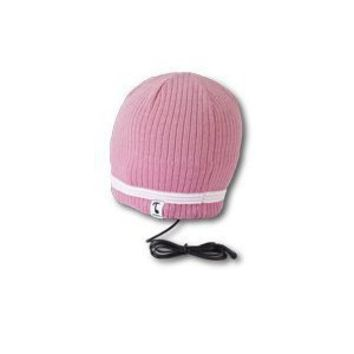 Amazon.com: Tooks VELOCITY Headphone Audio Beanie Hat With Built-in Removable Headphones - COLOR: ORCHID PINK, Unique Gift Idea: Electronics