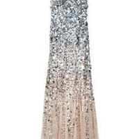 Rachel Gilbert|Giselle dgrad sequined gown|NET-A-PORTER.COM