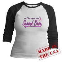 Don't Let Breast Cancer Steal Second Base Shirt by unclegear-