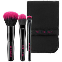 Sephora: Travel Essential Brush Set : brush-sets-makeup-brushes-applicators-tools-accessories