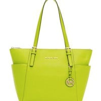 MICHAEL Michael Kors  Jet Set Saffiano Top-Zip Tote - Michael Kors
