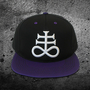 Weirdo Beardo Apparel — Sulfur Leviathan Cross Snapback