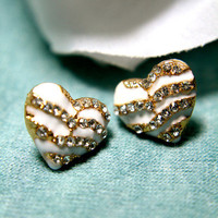 Romeo's Heart Earrings | Trinkettes