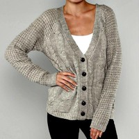 Grey Boyfriend Sweater