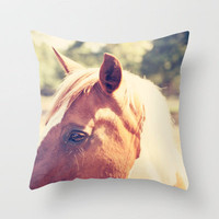 Pretty Paint Throw Pillow by Erin Johnson | Society6