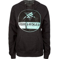 YOUNG & RECKLESS Upside Down Womens Hoodie 210623110 | Sweatshirts & Hoodies | Tillys.com