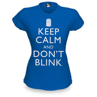 Keep Calm and Don&amp;#145;t Blink Babydoll