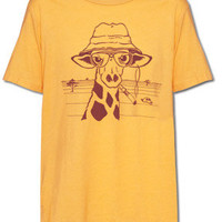 NEW! Hunter S. Giraffe T-Shirt: Soul-Flower Online Store