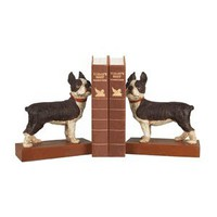 Sterling Industries 93-0797 Pair Boston Terrier Bookends