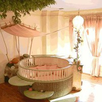 fairy land custom bedroom featured at babybox.com