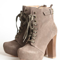 Still True Lace Up Platforms By Chelsea Crew - $100.00 : ThreadSence, Women&#x27;s Indie &amp; Bohemian Clothing, Dresses, &amp; Accessories