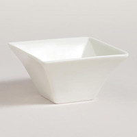 Mini Square Tidbit Dishes, Set of 4