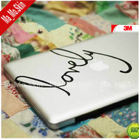 3M/Lovely-Macbook Decals Macbook Stickers Mac Cover Skins Vinyl Decal for Apple Laptop Macbook Pro/Macbook Air/Uniboday Partial skin