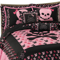 Skully Duvet Cover Set by David and Goliath?-, 100% Cotton - Bed Bath & Beyond