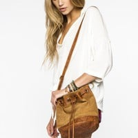 Brown Tassel Crossbody Bag