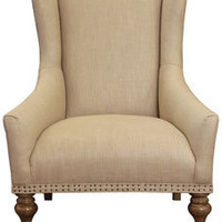 icon ginger chair - hamilton/natural - ABC Carpet & Home
