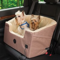 The Heated Pet Car Seat - Hammacher Schlemmer