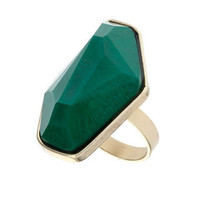 Irregular stone ring - What's New - Dorothy Perkins