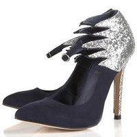 GASOLINE Glitter Flame Heels - Going Out  - Collections