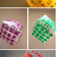 PLASTICA: Mass Art Cube Pillows