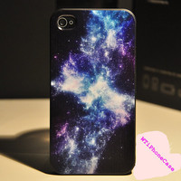 Boy Universe iPhone 4 Case, paint iPhone 4 Case for boy, dream Cute iPhone Case 4 4s, unique style for christmas