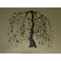 Cape Craftsmen Willow Metal Wall Art - 6AWD63004 - All Wall Art - Wall Art & Coverings - Decor